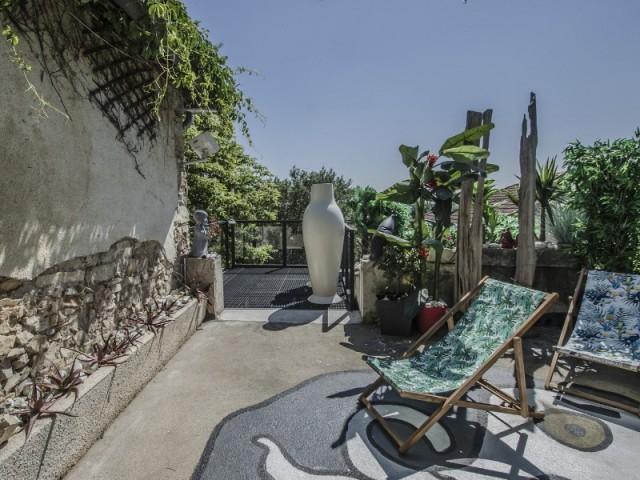 Une terrasse comme un cocon