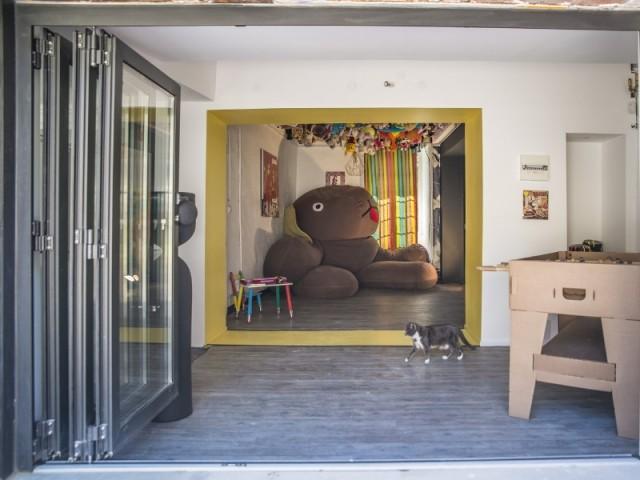 Un espace de jeux pour les enfants