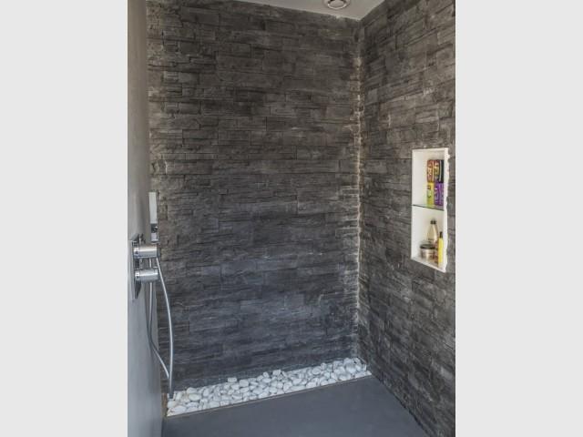 Une douche minérale