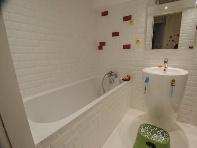 Une baignoire pour parfaire la salle de bains