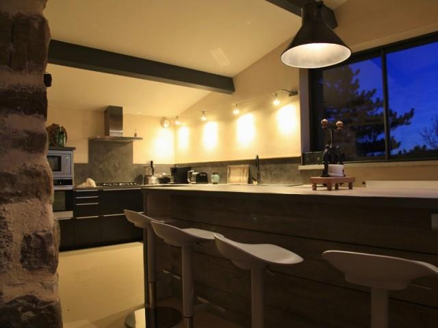 Une cuisine très ouverte