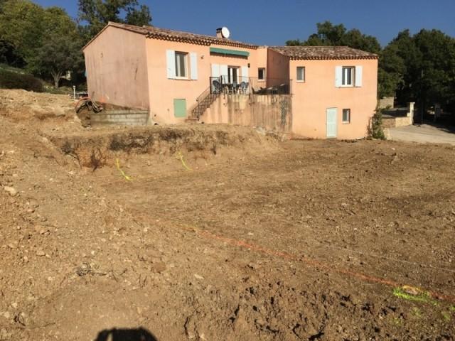 Le terrain a été remodelé entièrement