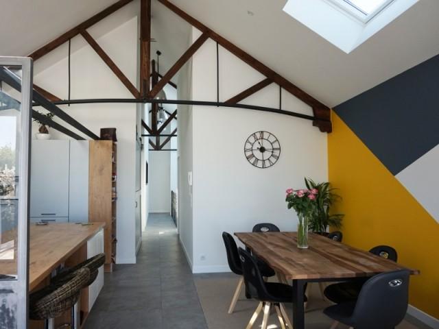Un garage transformé en loft