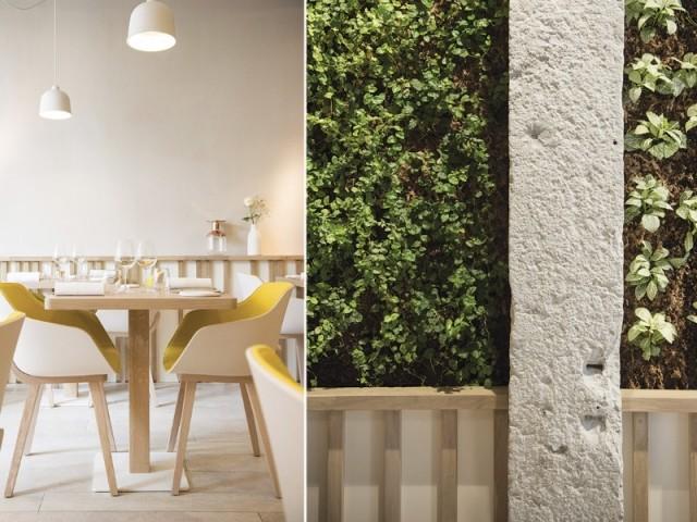 Touche végétale - Restaurant Le Prairial, à Lyon