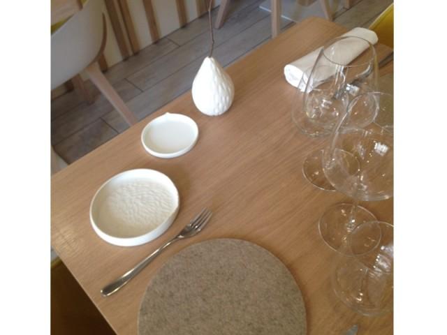 Vaisselle artisanale - Restaurant Le Prairial, à Lyon