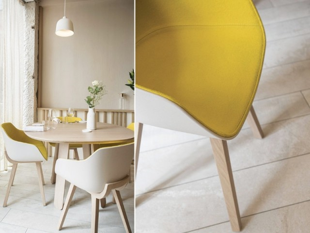 Des chaises design - Restaurant Le Prairial, à Lyon