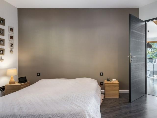 Une chambre épurée et raffinée