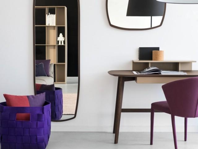 Inspirations bureau modèles en bois aux lignes épurées