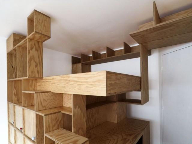Un meuble design et aérien