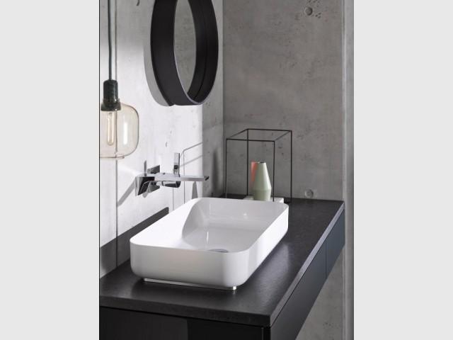 Vasque Stream en acier vitrifié 3 mm