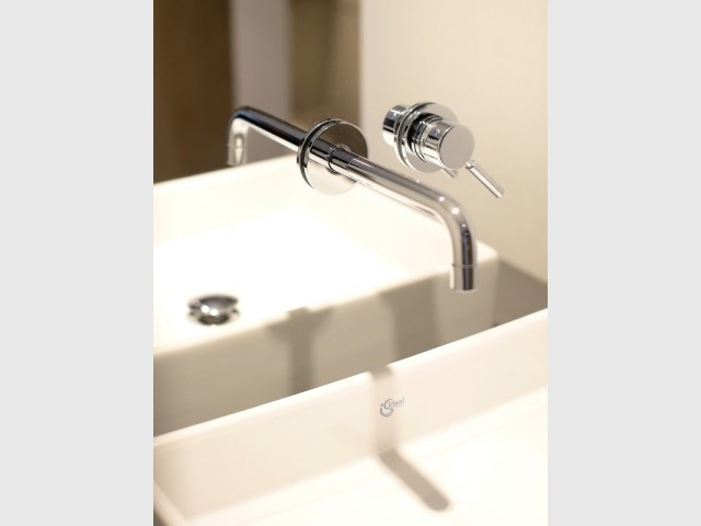Une robinetterie encastrée pratique et esthétique