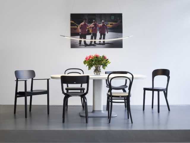 Les classiques chaises en bois signées Thonet
