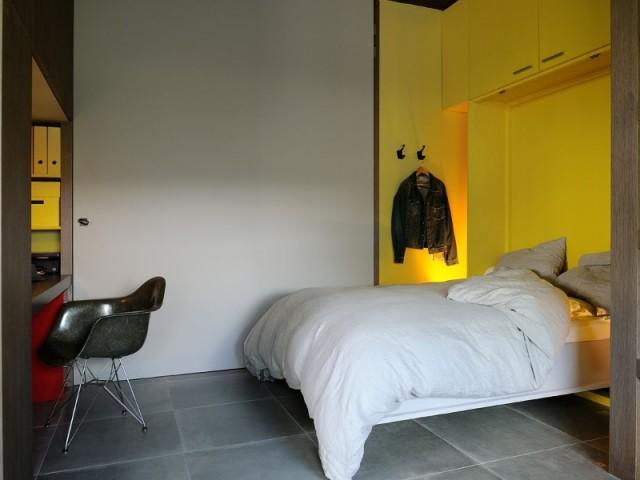 Une chambre occasionnelle mais fonctionnelle