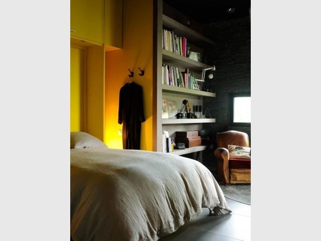 Une chambre avec vue sur la vallée du Rhône