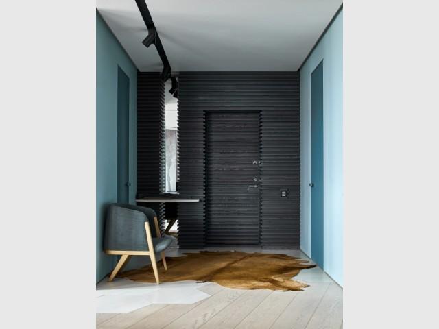 Rénover un appartement en s\'inspirant du bleu de la mer Baltique
