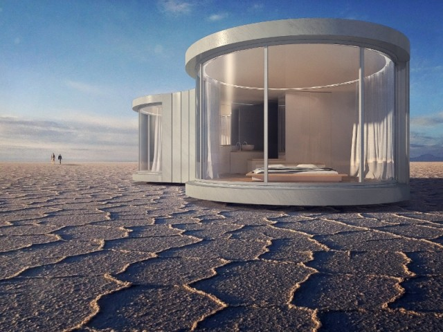 Une maison, deux vues panoramiques