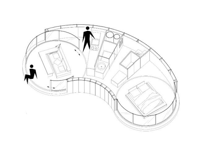 Une maison de 40 m2