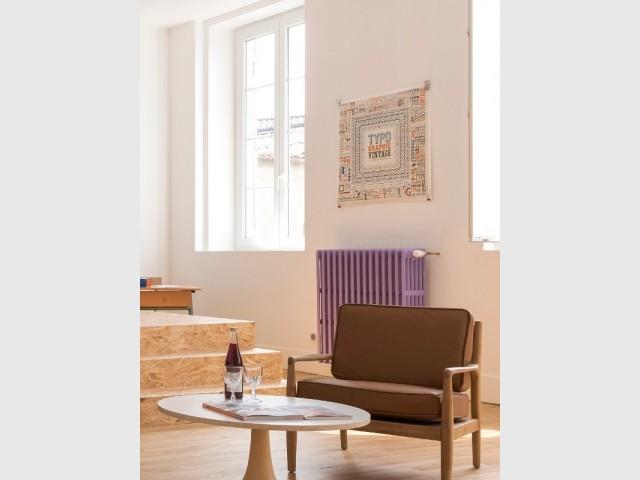 suite parentale avec salle de bains un am nagement insolite. Black Bedroom Furniture Sets. Home Design Ideas