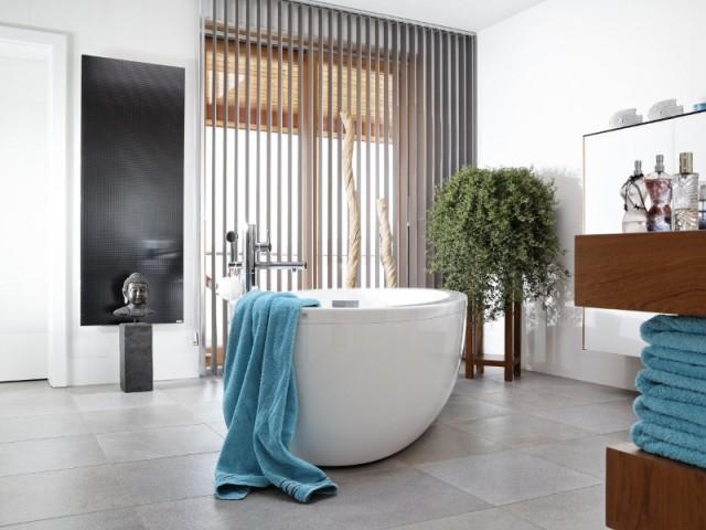 Un radiateur ultra discret dans la salle de bains