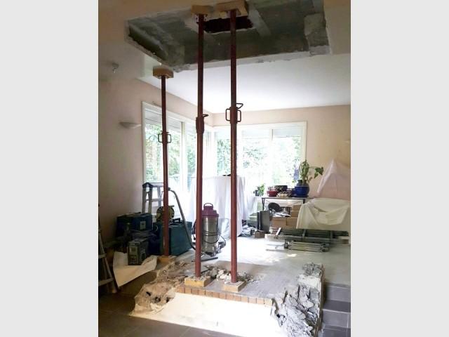 """Rénover sa cheminée, un chantier """"technique"""" mais rapide - Rénover sa cheminée, un exemple"""