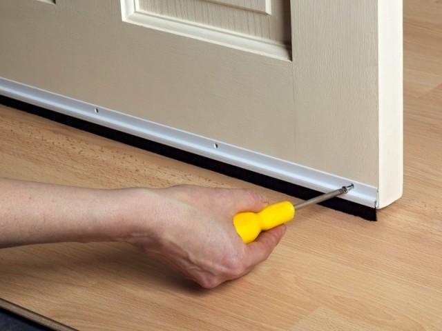 Portes : empêcher les fuites de chaleur