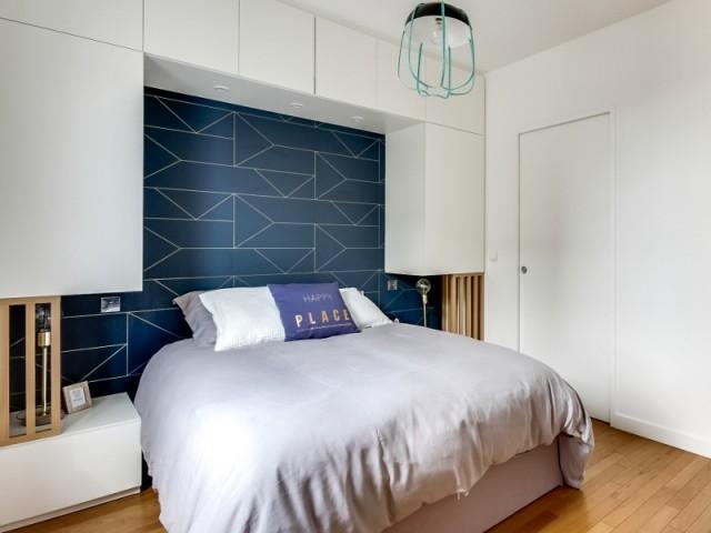 Un tête de lit sublimée par le mobilier