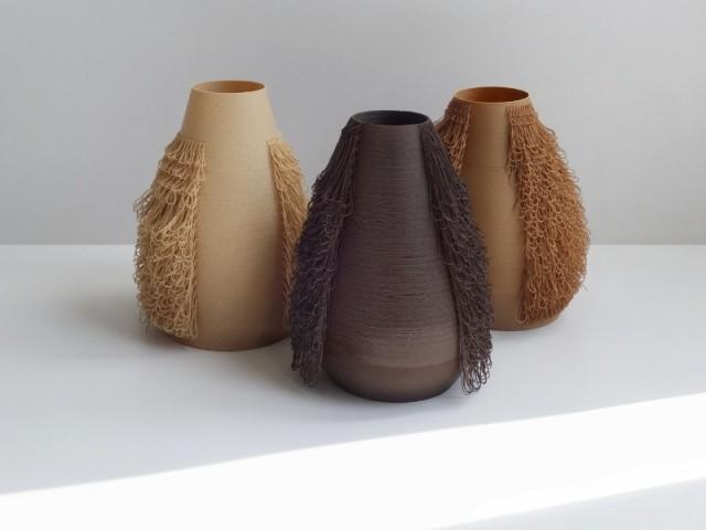Des vases poilus signés Bold Design