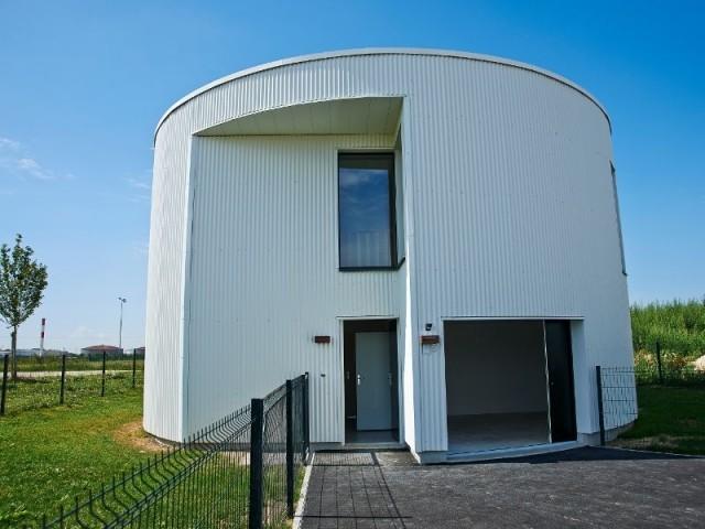La maison ronde - Maisons du futur