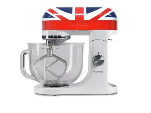 Un robot pâtissier aux couleurs de l'Union Jack