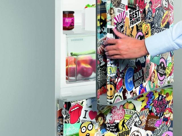 Un réfrigérateur totalement personnalisé