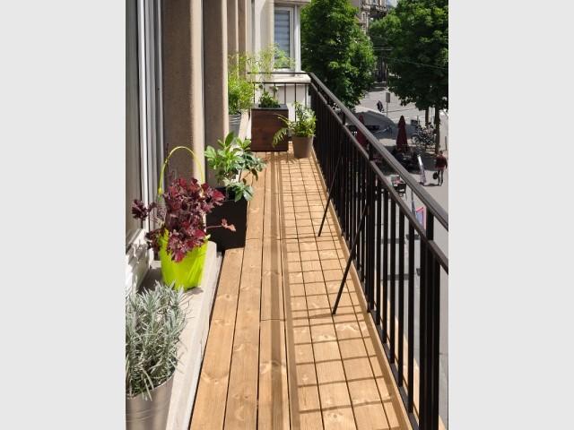 Résultat : une terrasse chaleureuse