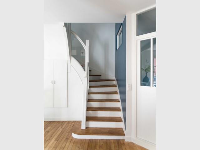 L'escalier, élément central de la maison