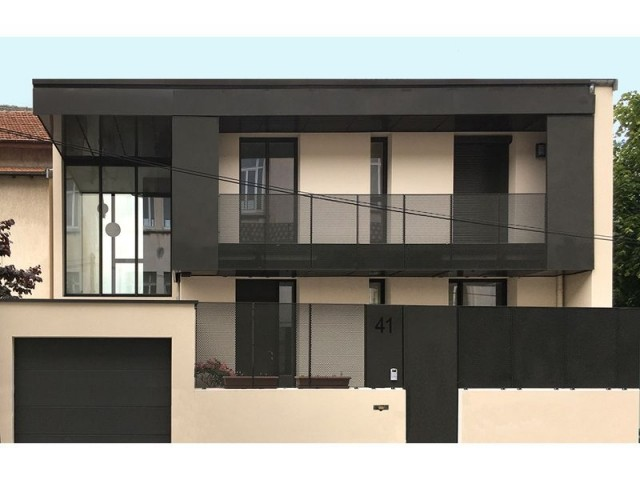 Maison réhabilitée à Lyon