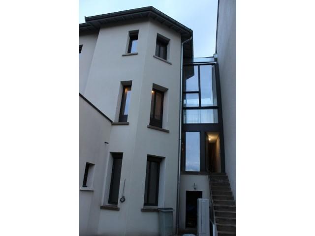 Maison réhabilitée à Lyon  - Maison réhabilitée à Lyon