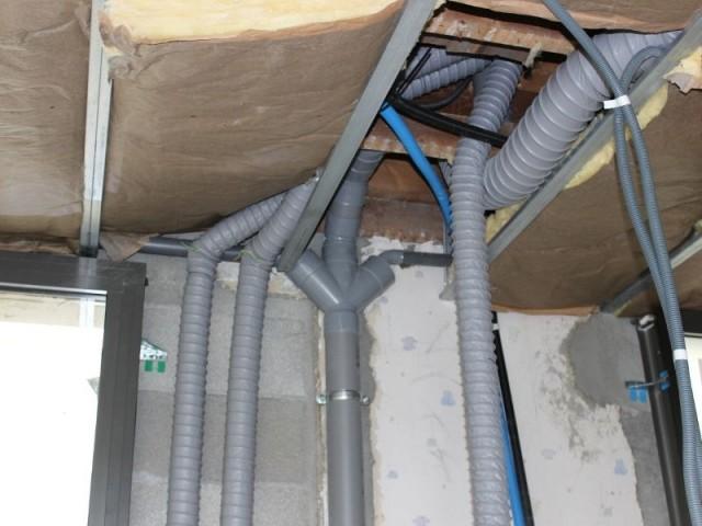 Un système de chauffage intégré - Maison réhabilitée à Lyon