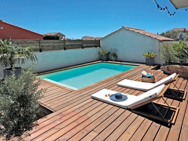 Une piscine insérée en tissu urbain dense 2/2