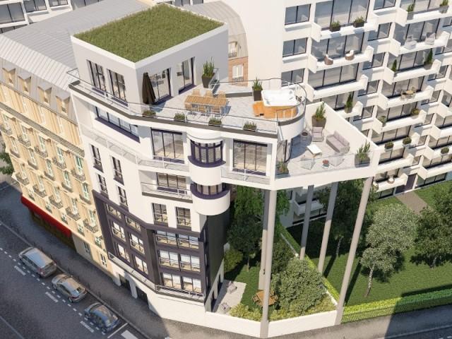 Une maison perchée en plein coeur de Paris