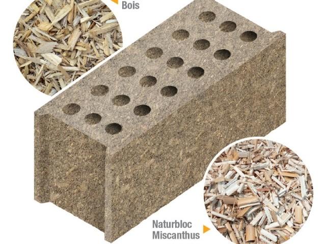 Des blocs porteurs en bois recyclé