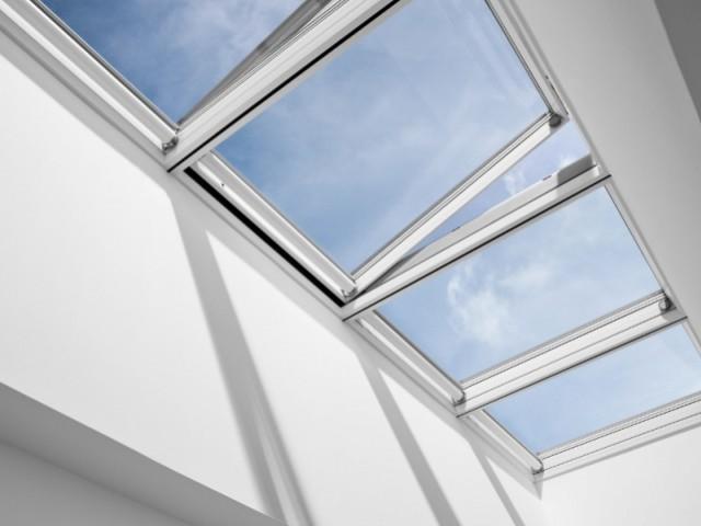 Verrière modulable pour toiture plate