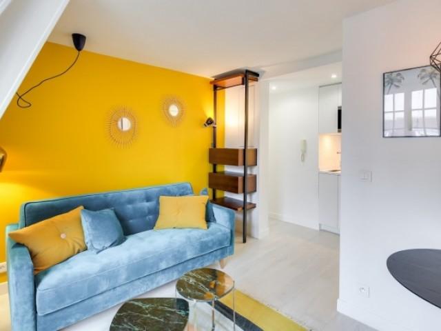 Un studio parisien réaménagé intégralement