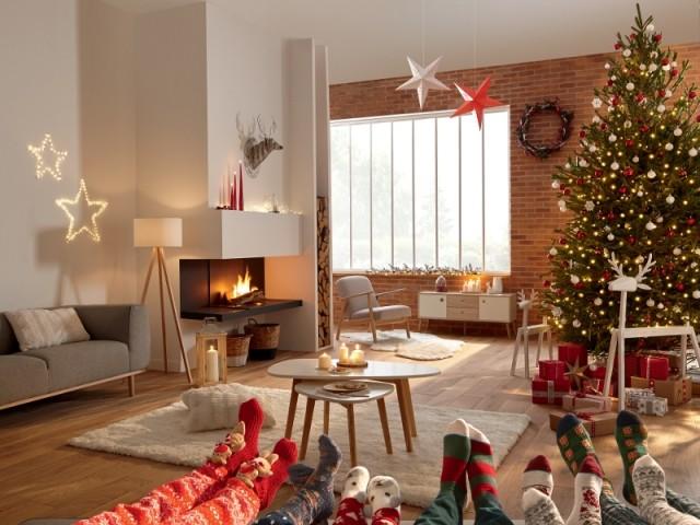 Noël au coin du feu dans un cocon indus'  - Noël pour tous/Conforama