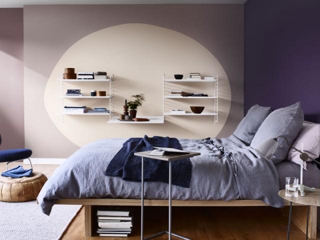 Décliner le violet en un camaïeu cosy
