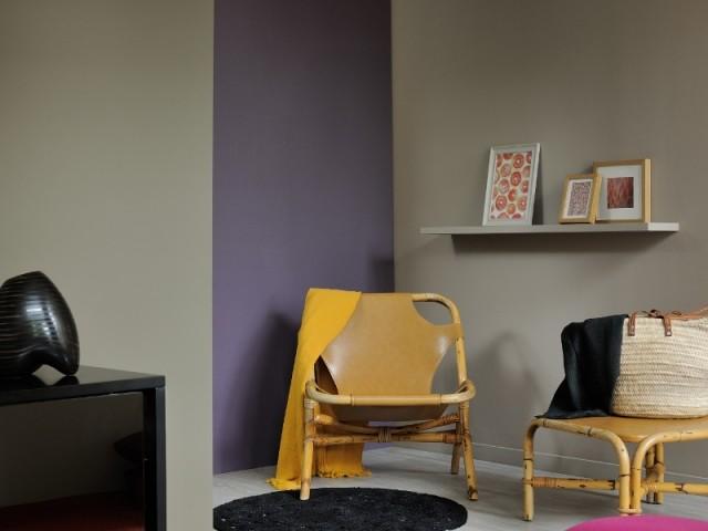 Dynamiser un angle avec une touche de violet