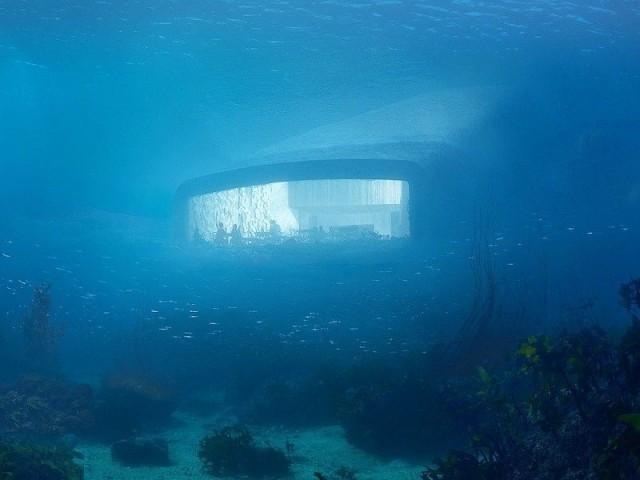 Under, le restaurant sous-marin
