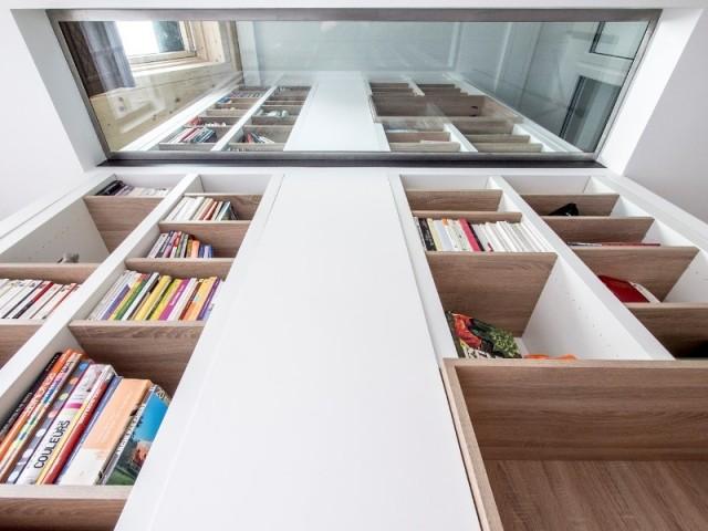 Transparence totale entre les étages