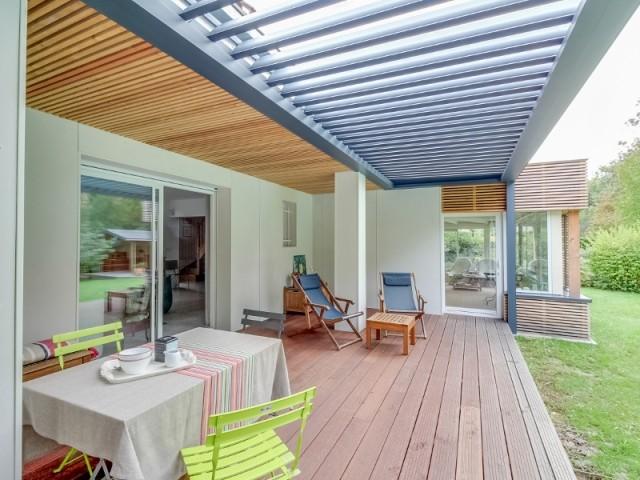 Rénovation et agrandissement d'une terrasse