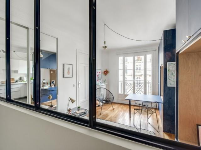 L'appartement fait 32 m2
