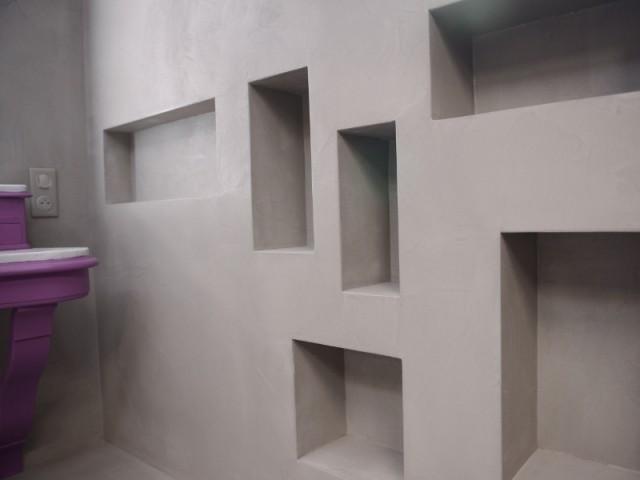 Les niches serviront de rangements