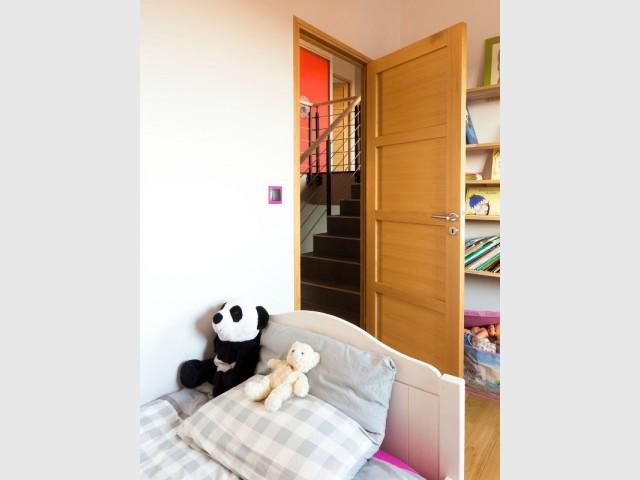 Les chambres d'enfants ont des mezzanines