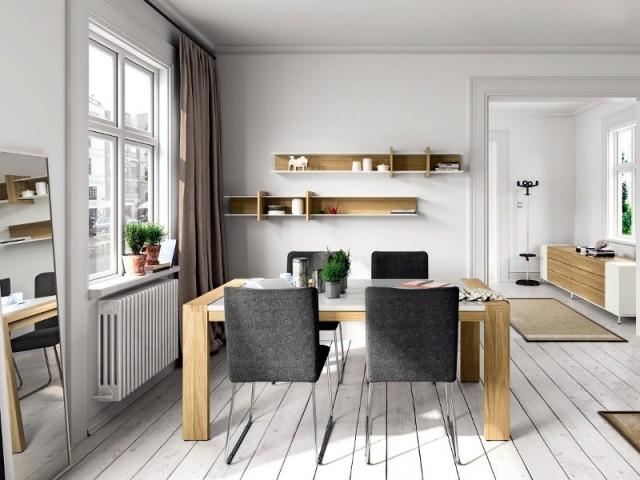 Des niches en bois... pour une salle à manger